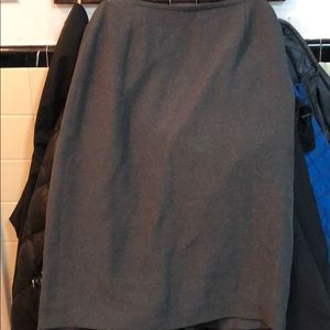 Used skirt color gray